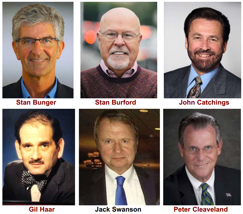 Radio News Now and Then Cast (Photo)