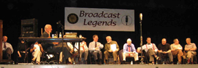 Broadcast Legends On Stage (Photo)