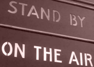 Stand By - On The Air Sign (Image)