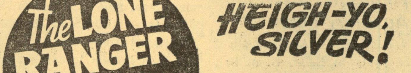 Lone Ranger (Advertisement Image)
