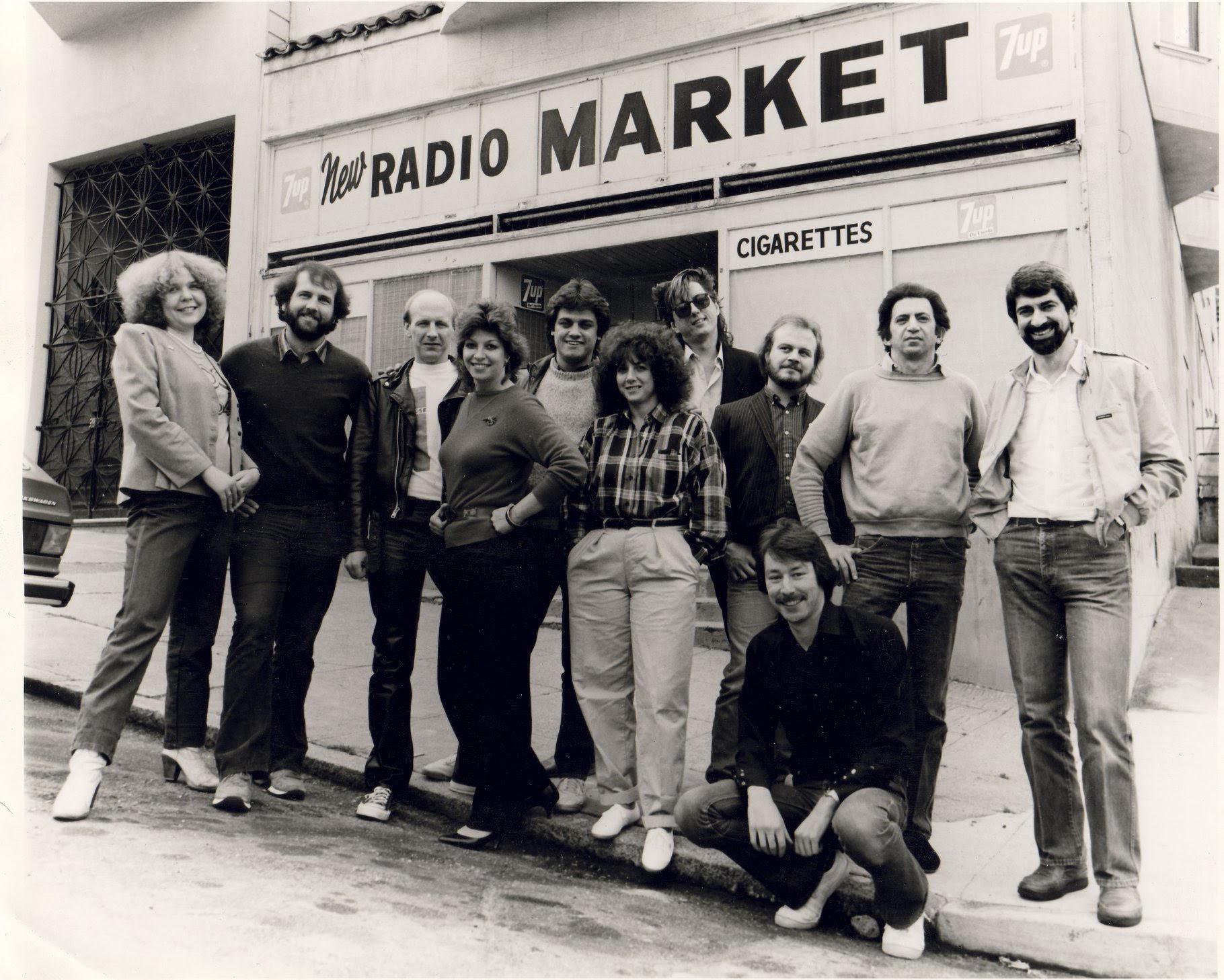 KFOG Team Photo (1987)