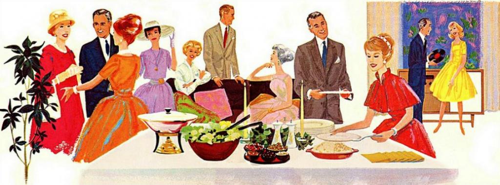 Retro Christmas Party (Image)